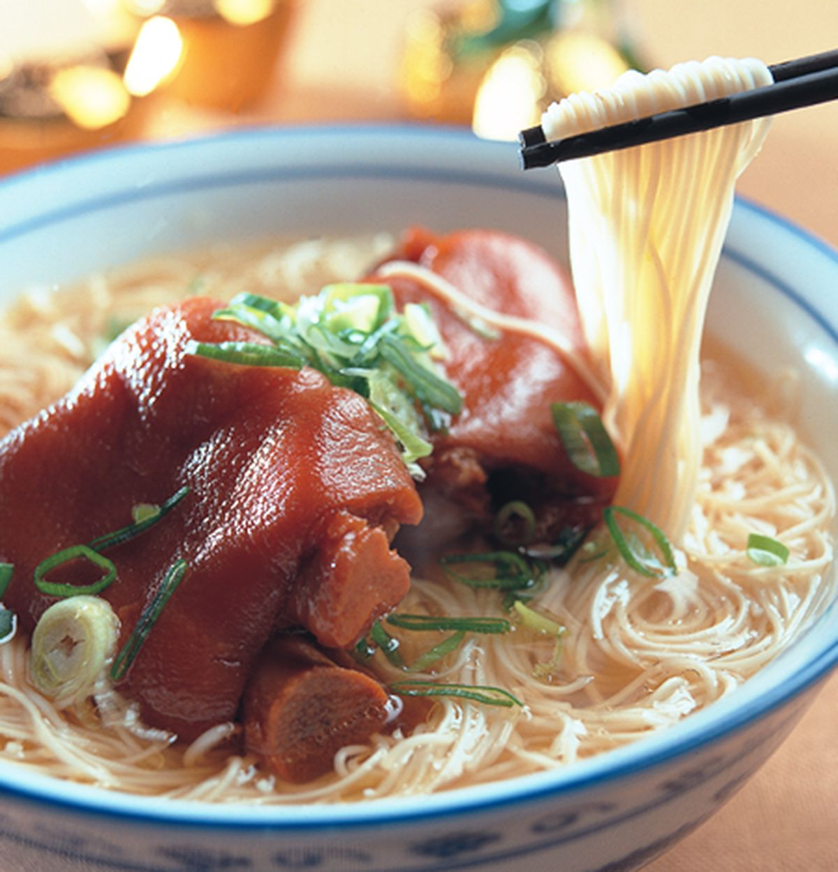 食譜:豬腳麵線