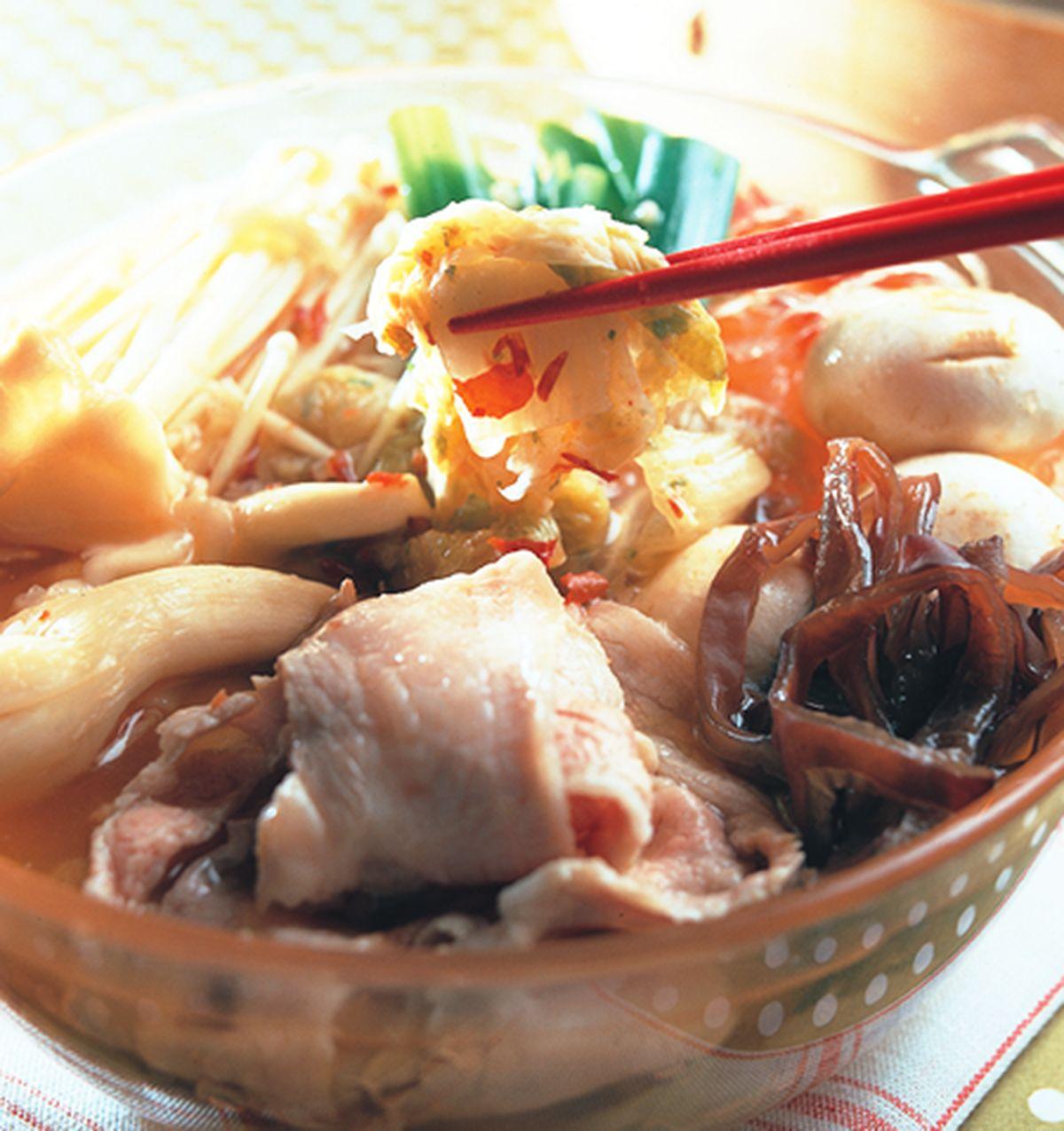 食譜:韓式泡菜鍋(1)