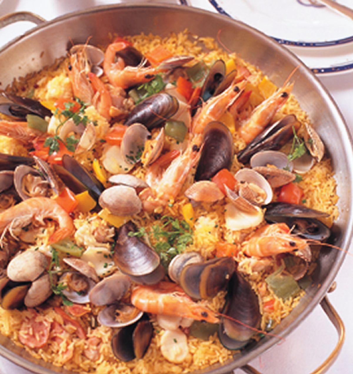 食譜:西班牙海鮮飯(2)