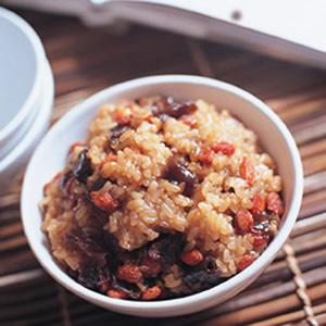 豔紅糯米飯