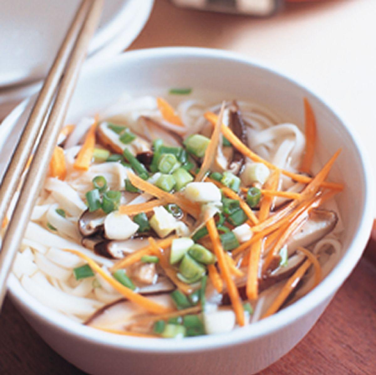 食譜:高纖菇菇麵