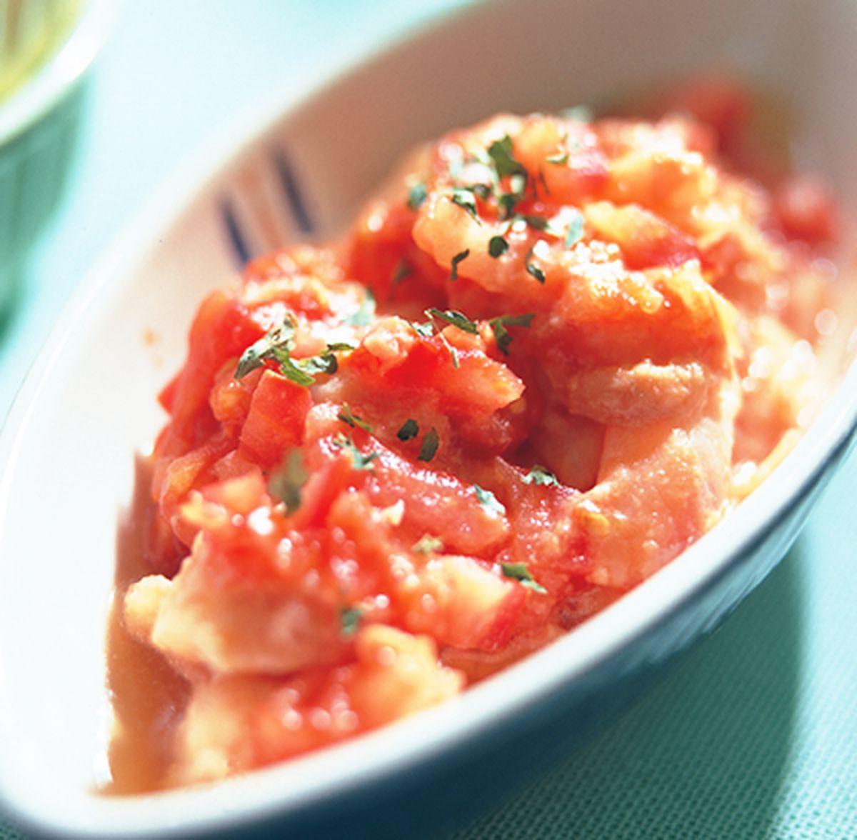 食譜:茄汁鯛魚