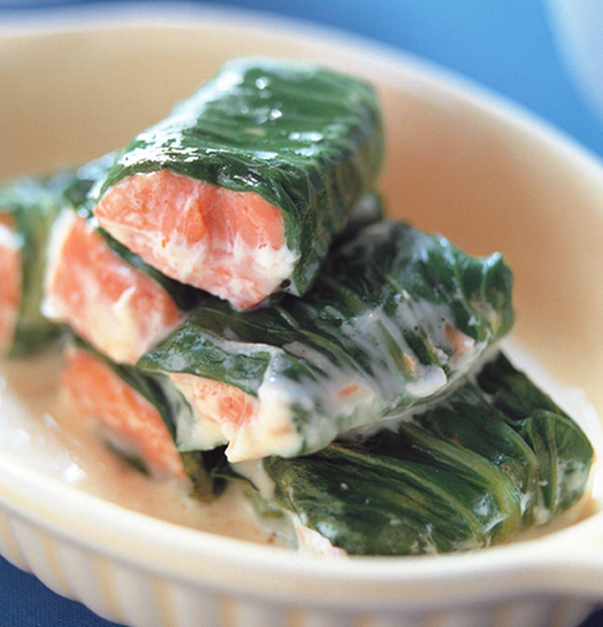 食譜:鮭魚起士捲