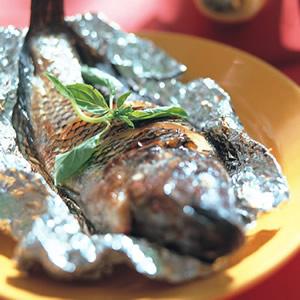 鹽烤吳郭魚