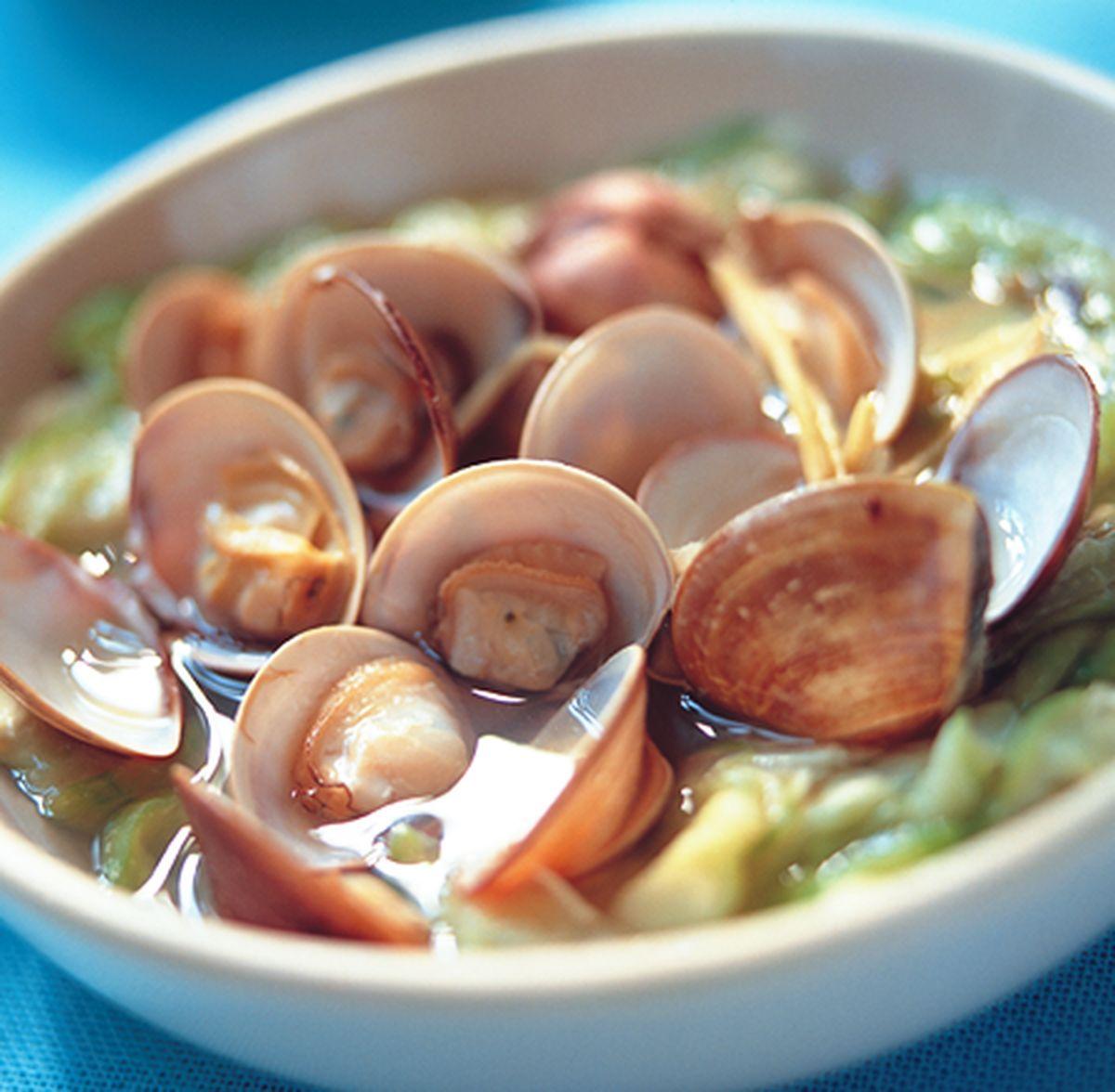 食譜:蛤蜊絲瓜