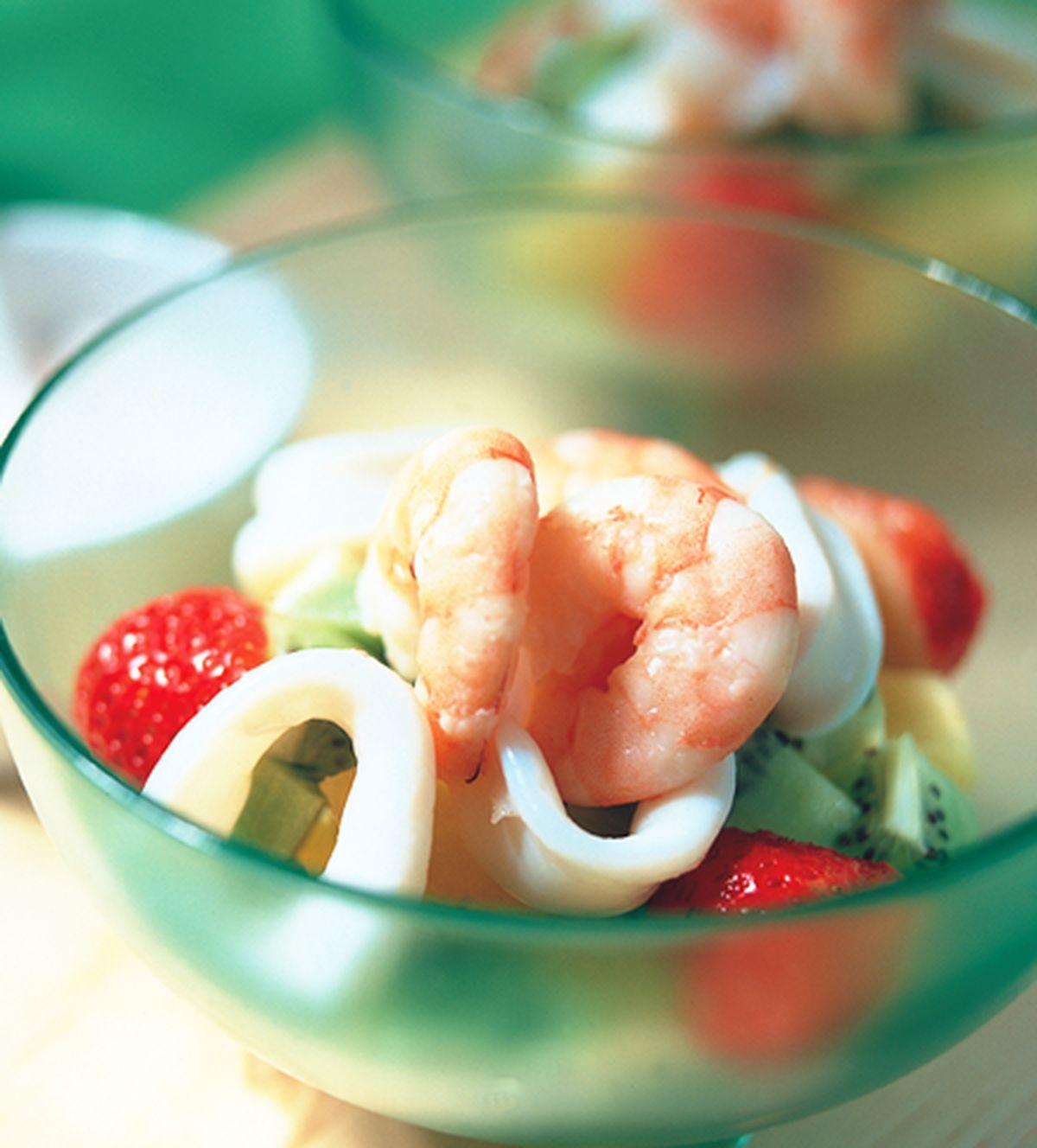 食譜:和風海鮮沙拉