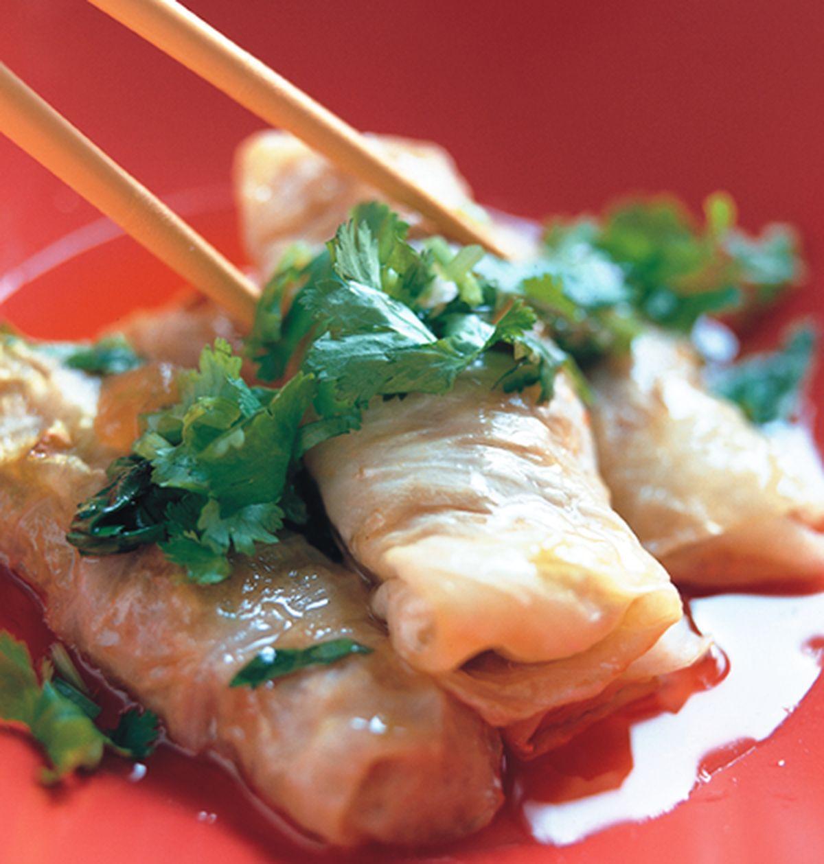 食譜:奶油高麗菜捲