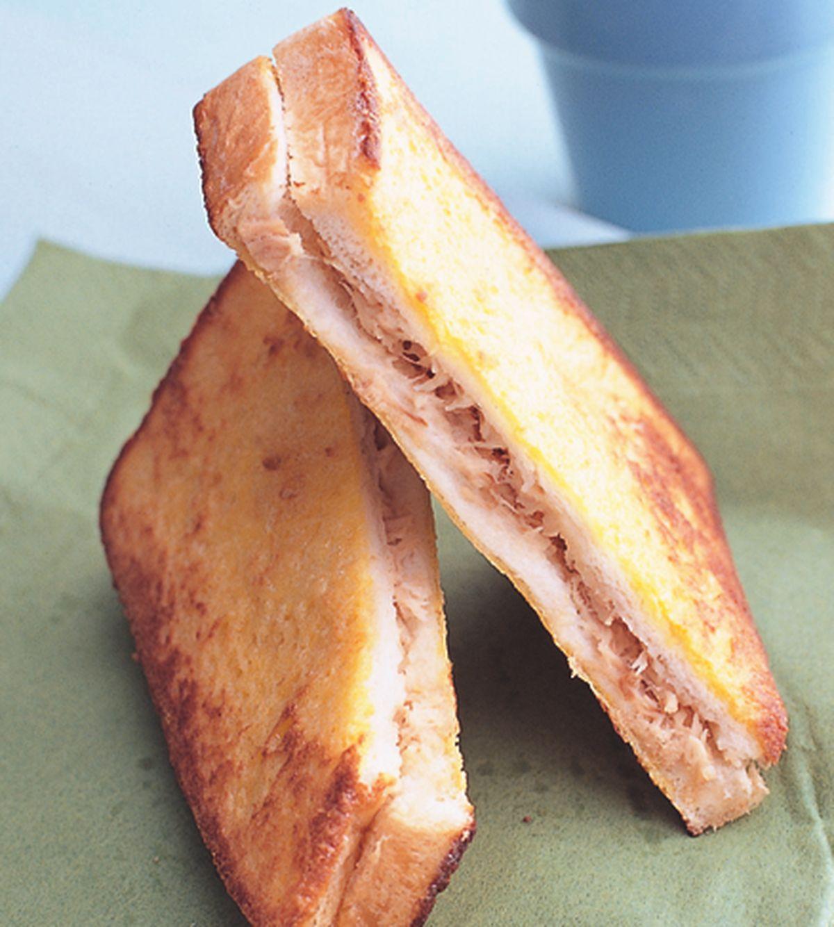 食譜:蛋香鮪魚三明治