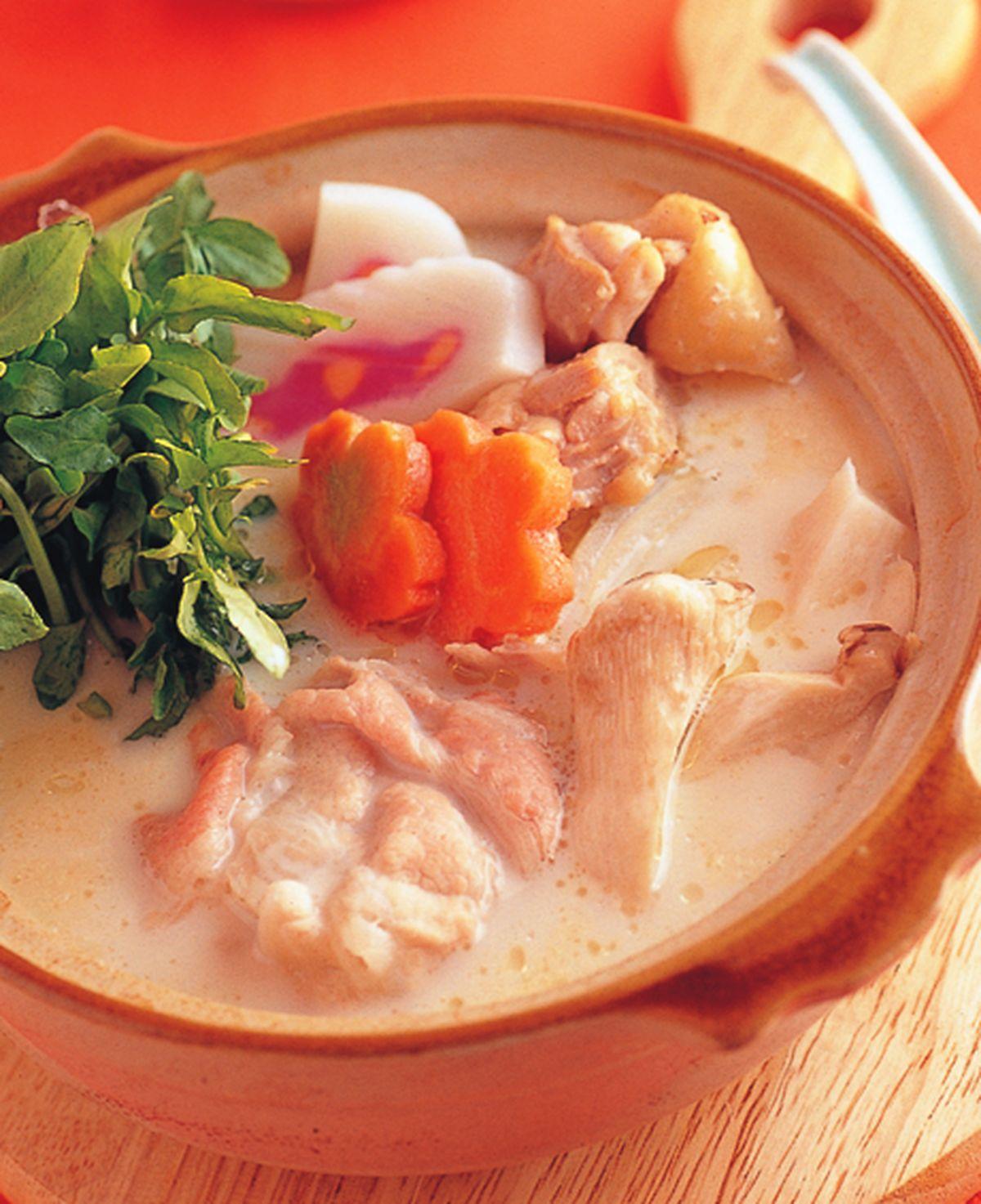 食譜:豆漿鍋