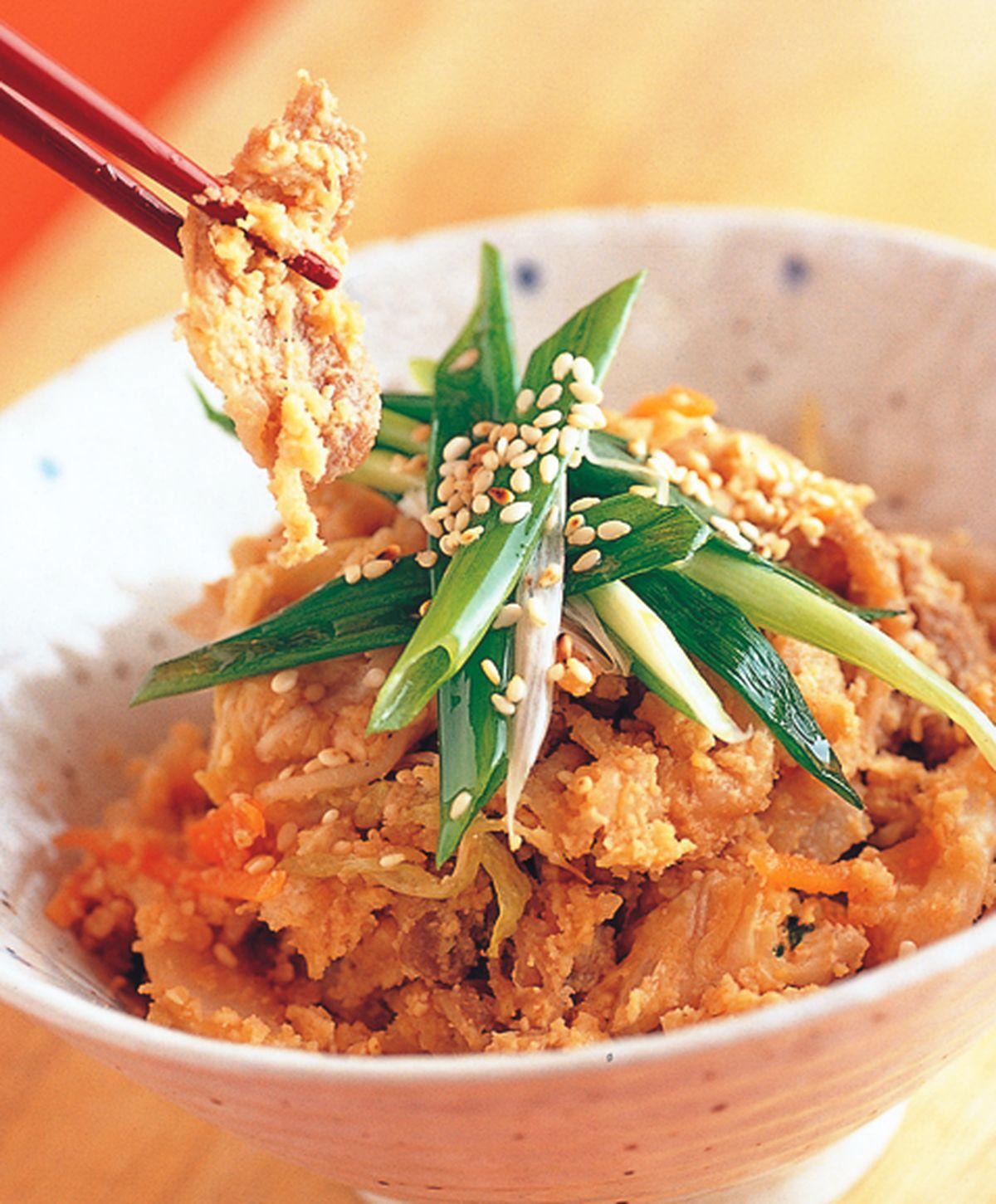 食譜:韓風豆渣香