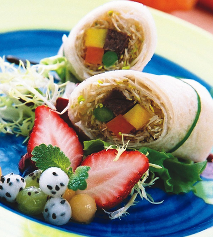 食譜:京醬牛肉捲