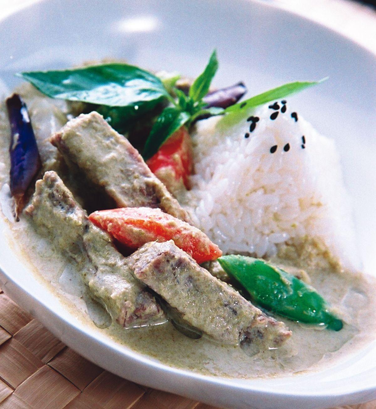 食譜:泰味綠咖哩牛肉