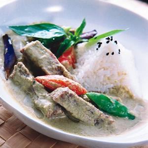 泰味綠咖哩牛肉