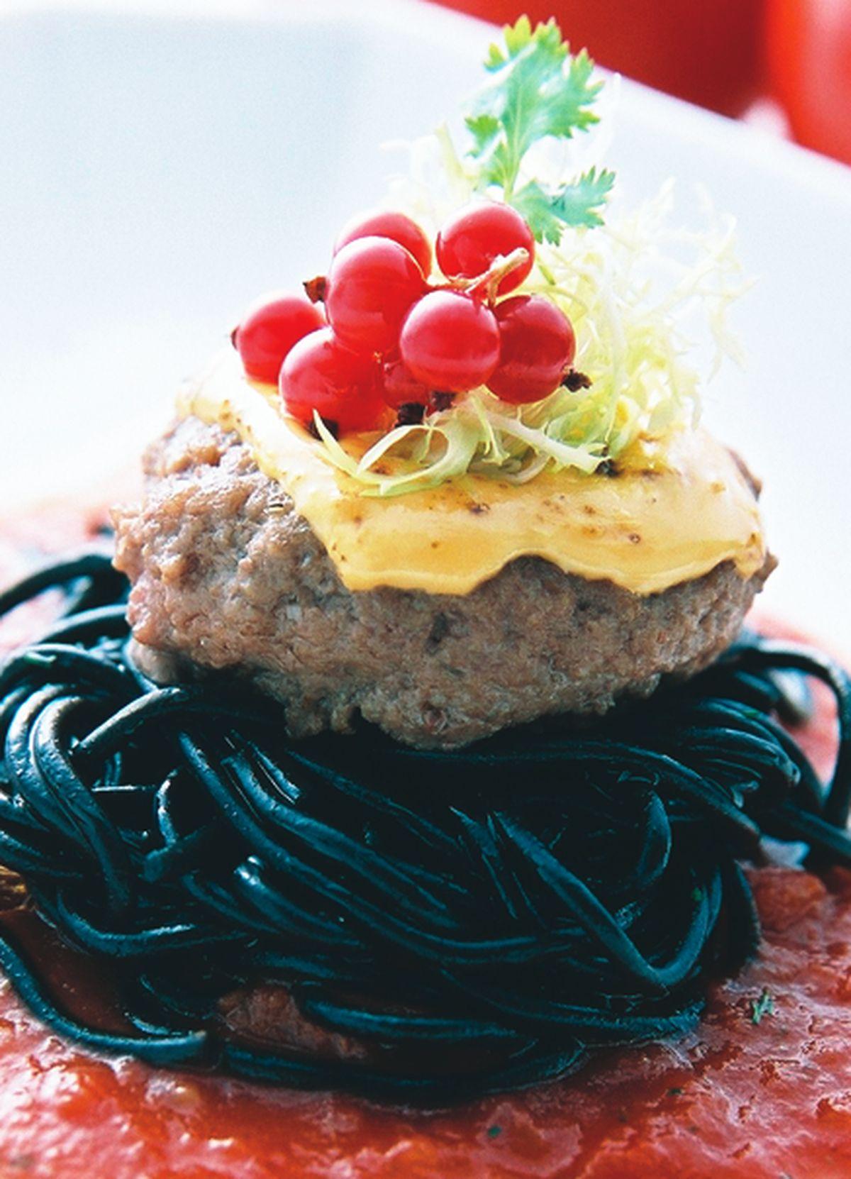 食譜:起士蕃茄牛肉餅