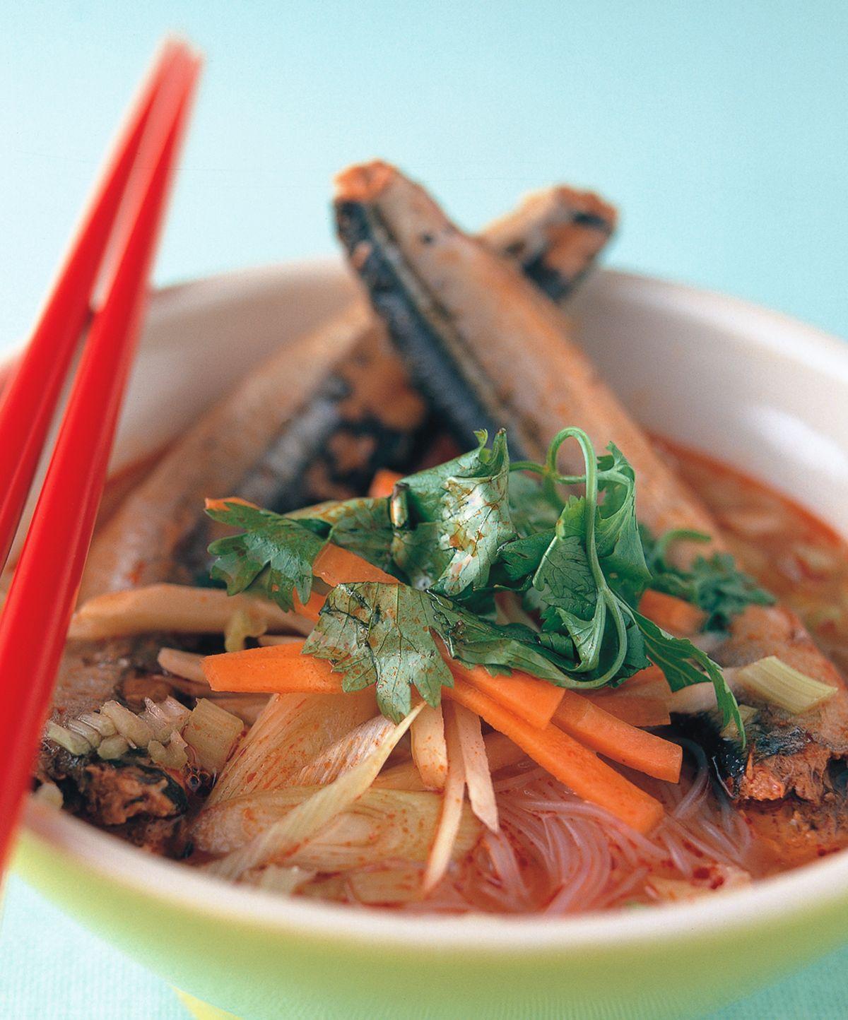 食譜:沙丁魚米粉