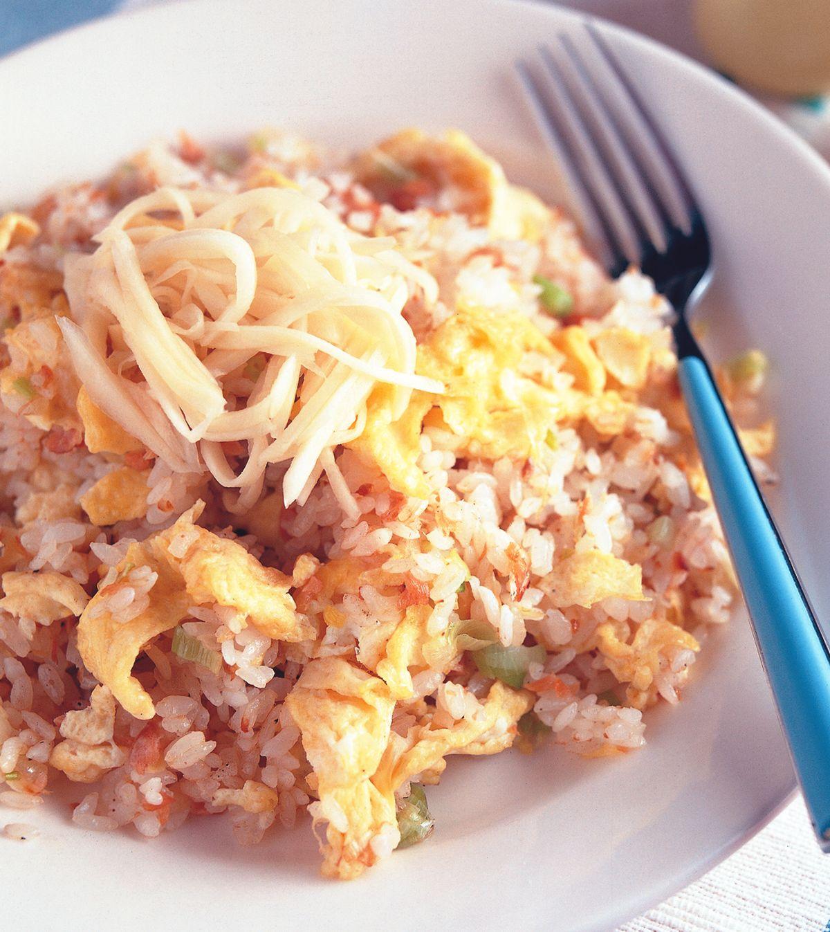 食譜:鮭魚炒飯(1)
