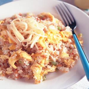 鮭魚炒飯(1)
