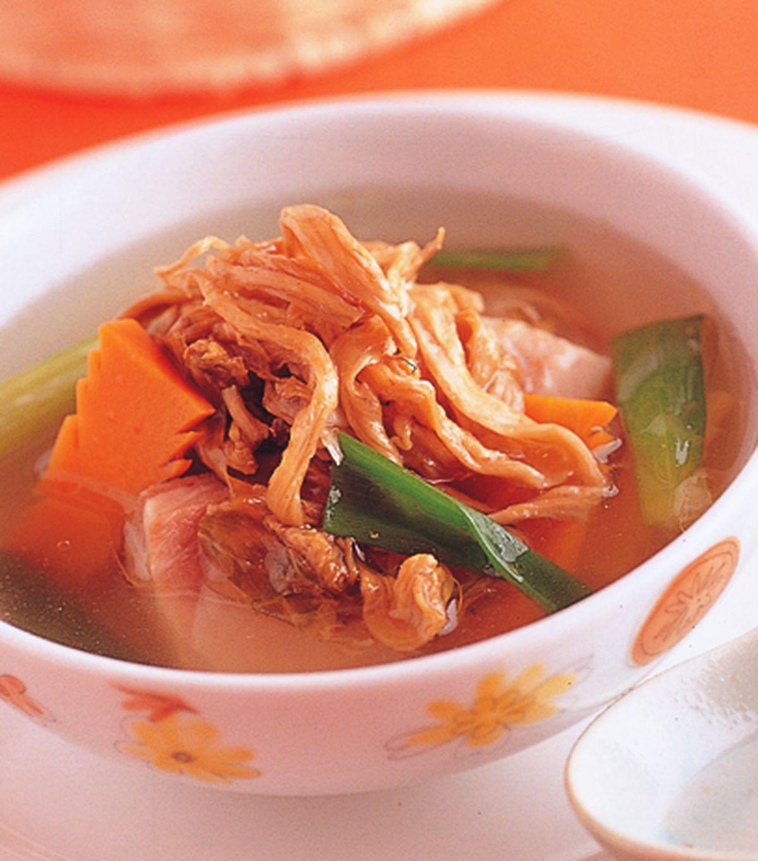 食譜:清燉排骨菜乾湯