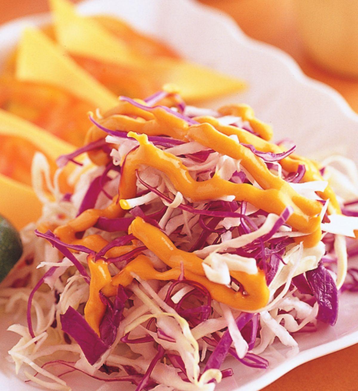 食譜:芥味雙色蔬