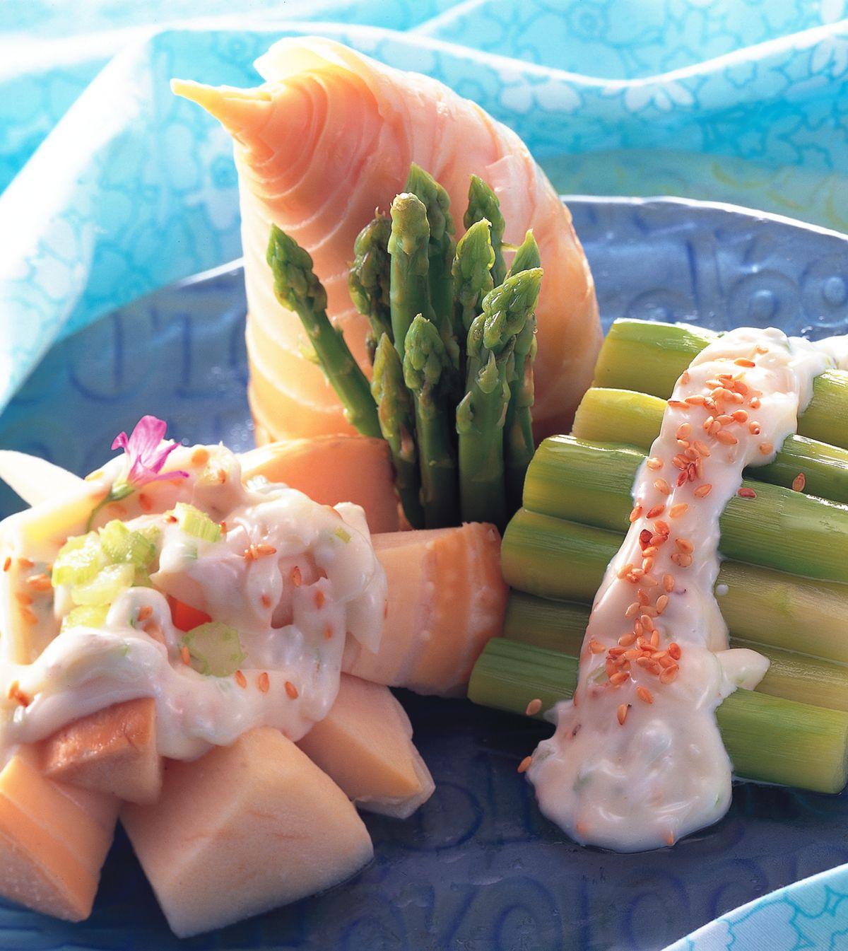 食譜:雙色鮮味沙拉筍