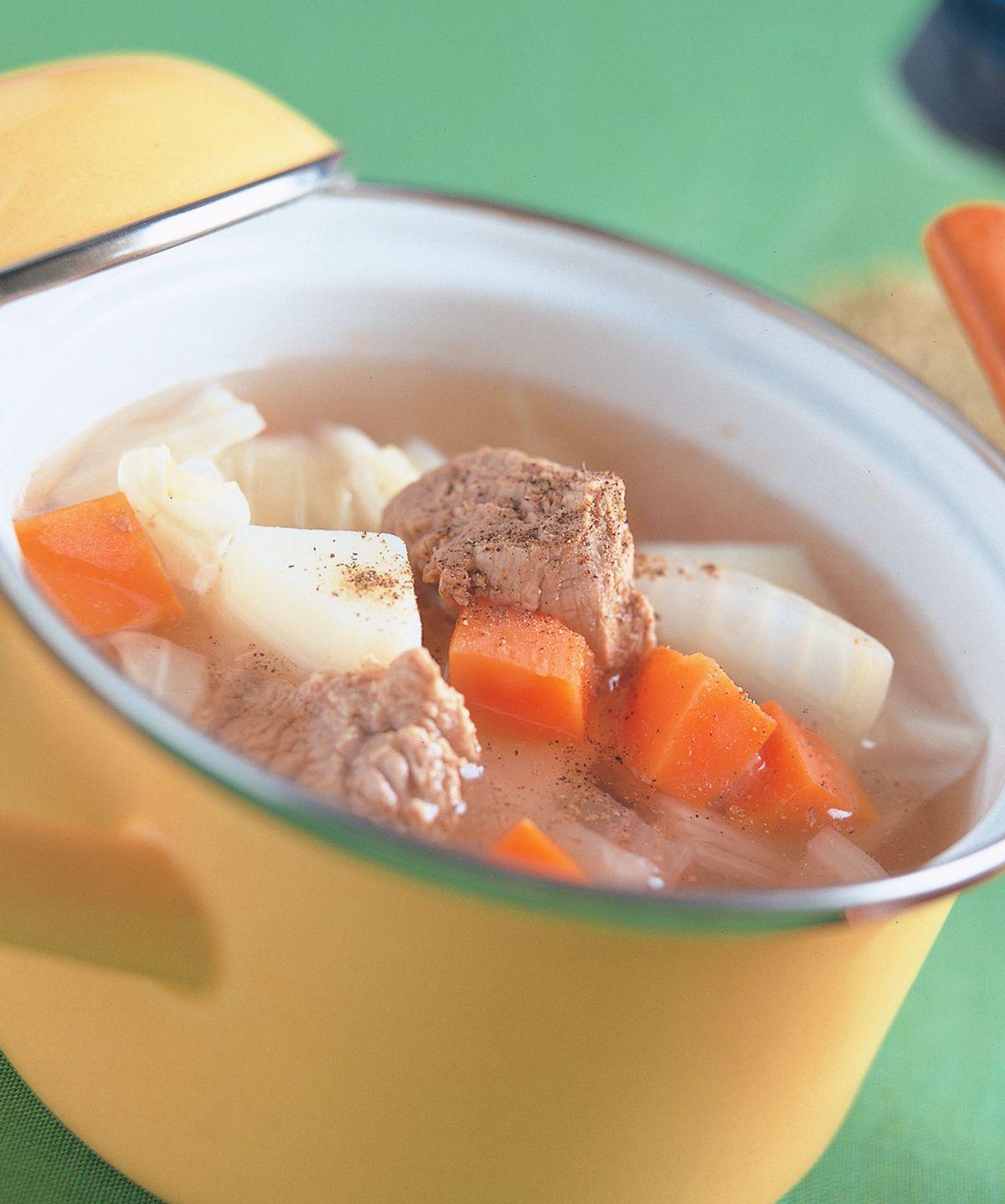 食譜:牛肉蔬菜湯