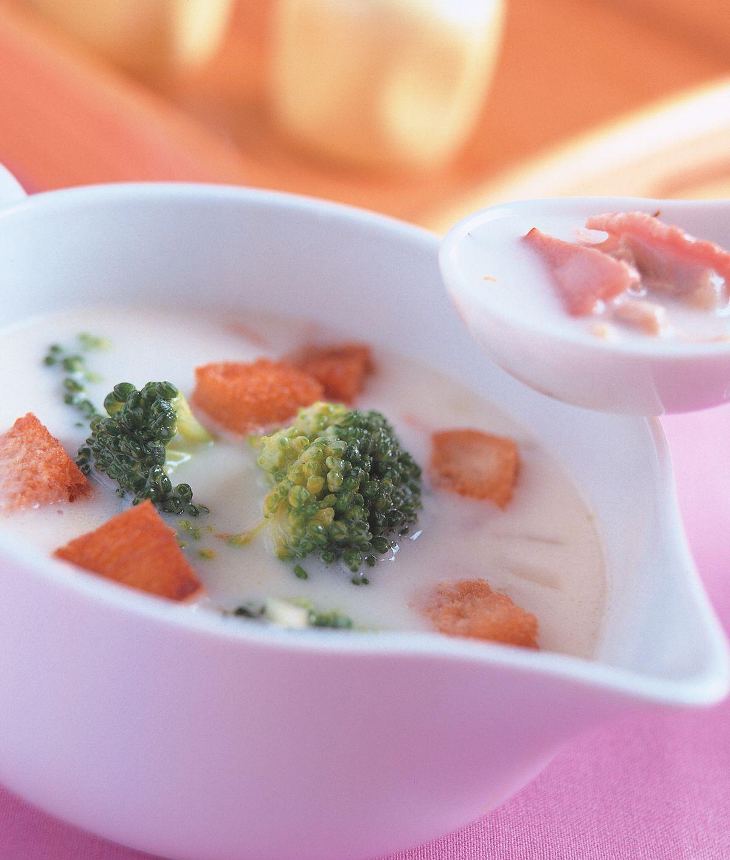 食譜:美式花菜濃湯
