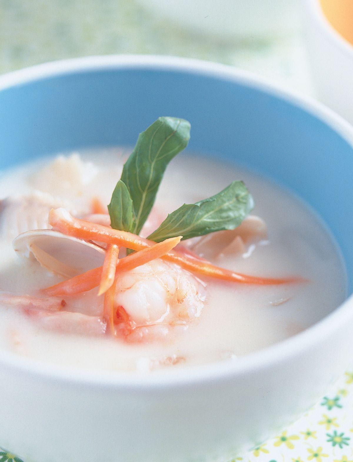 食譜:海鮮巧達濃湯