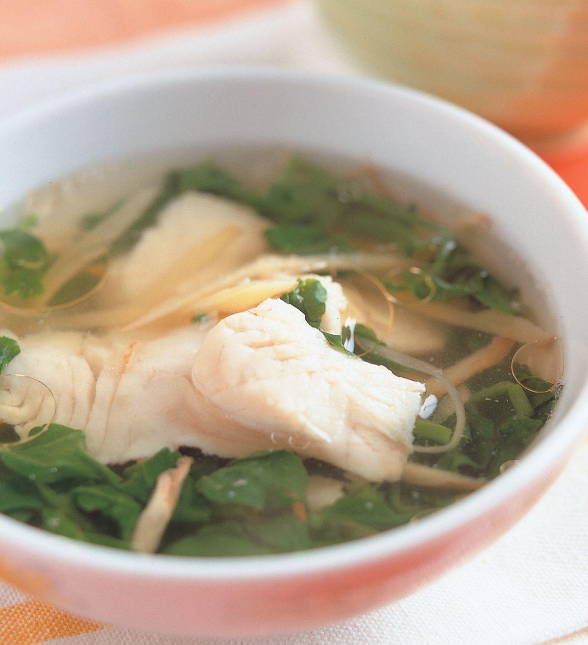 食譜:西洋菜魚湯