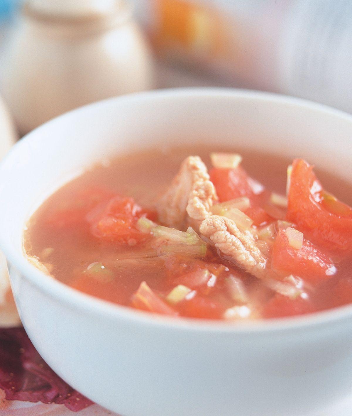 食譜:香茄芹菜湯