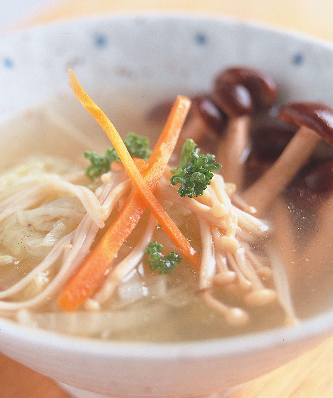 食譜:菌菇蔬菜湯