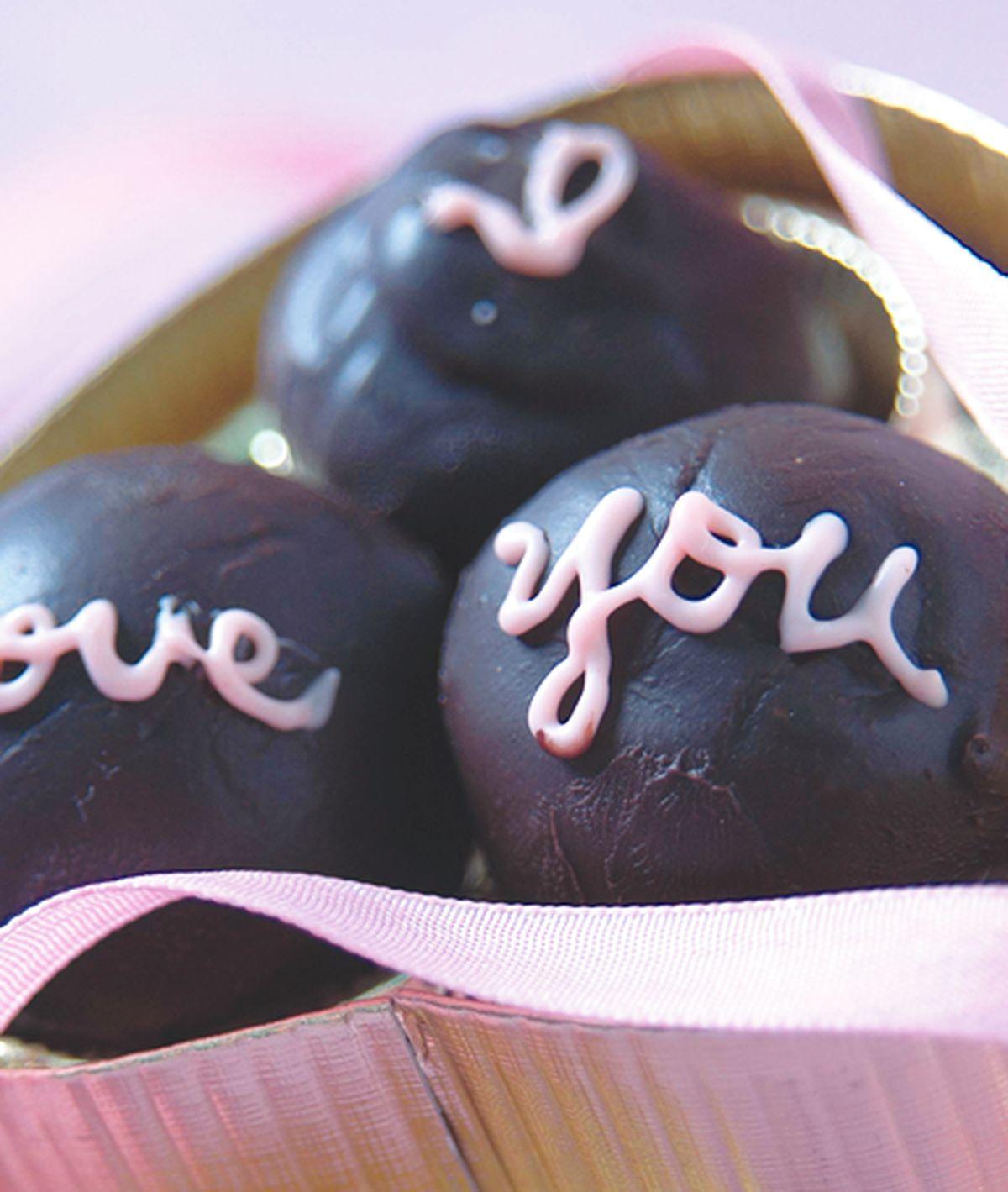 食譜:堅果巧克力球