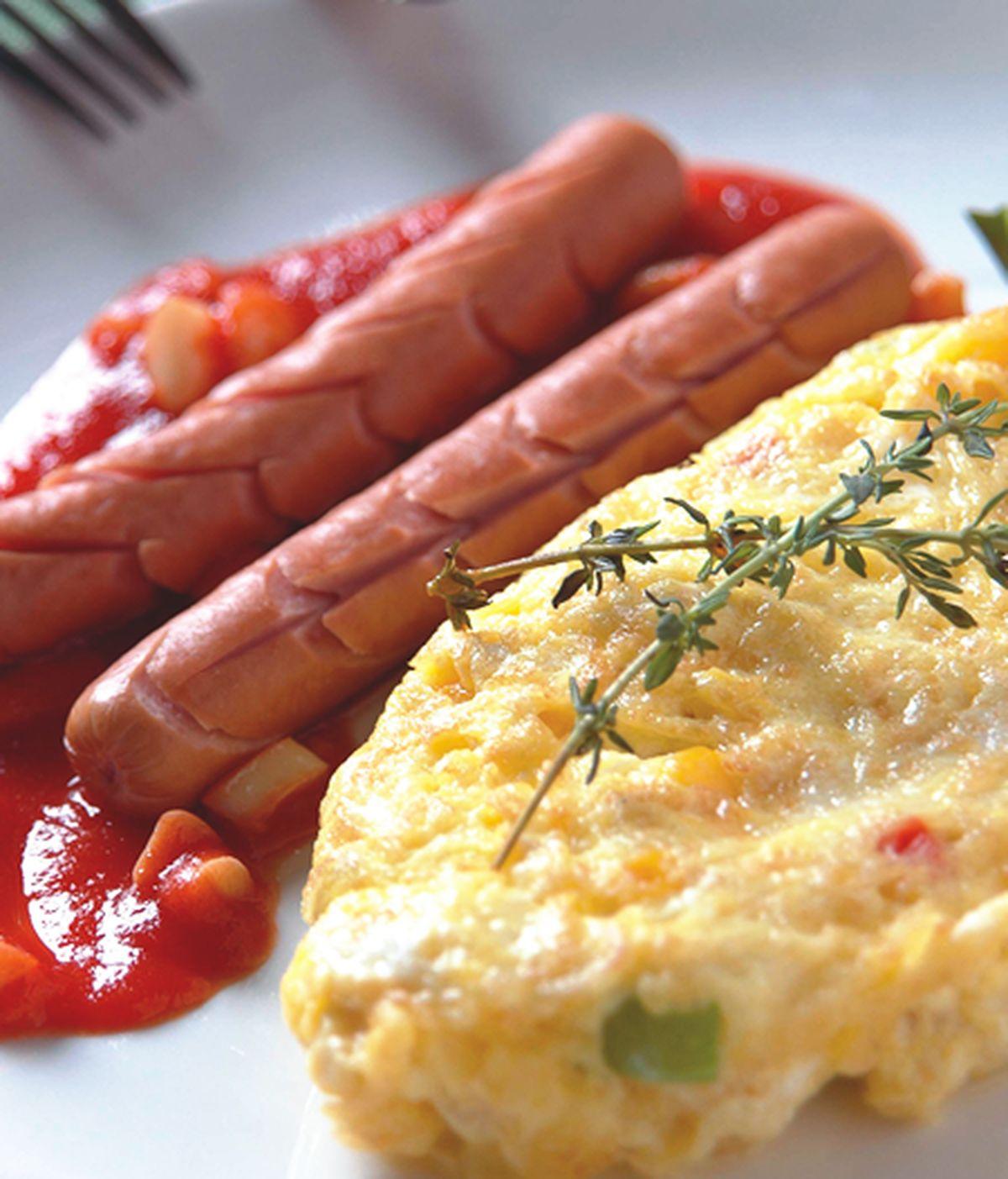 食譜:巴克香腸玉米煎蛋