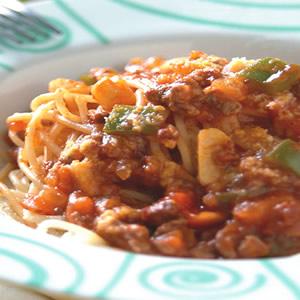 義大利肉醬麵(1)