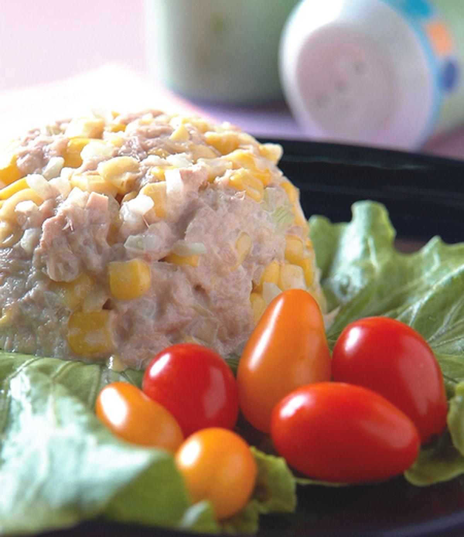 食譜:玉米鮪魚沙拉