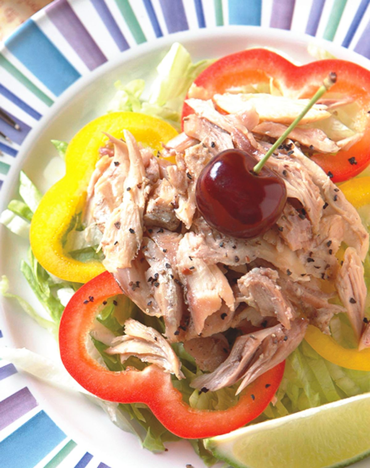 食譜:嫩汁雞肉沙拉