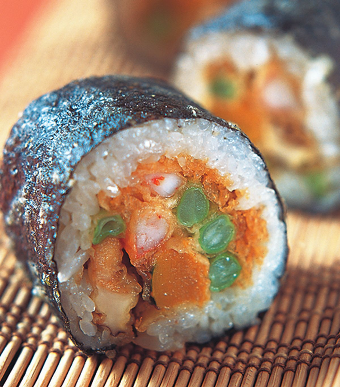 食譜:天婦羅壽司卷