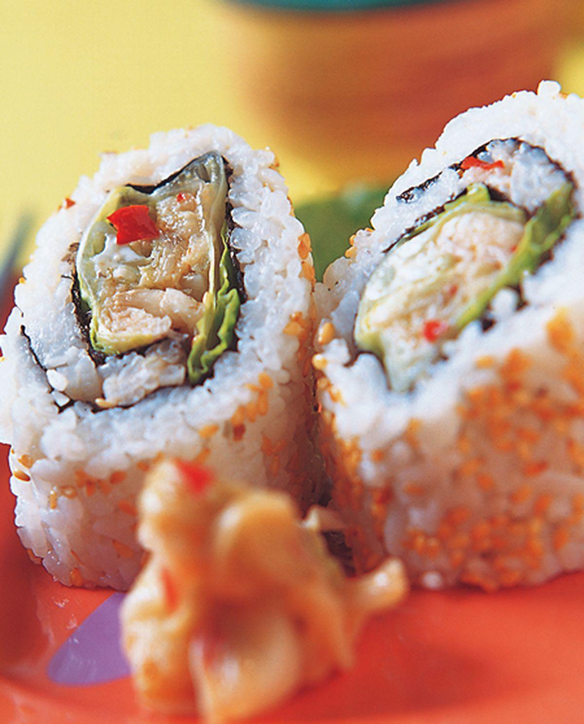食譜:韓式泡菜壽司卷