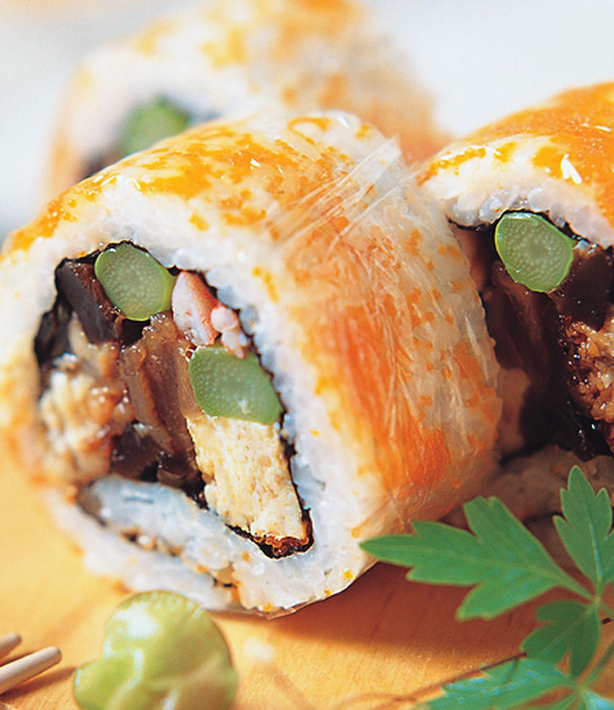 食譜:錦繡花壽司(1)