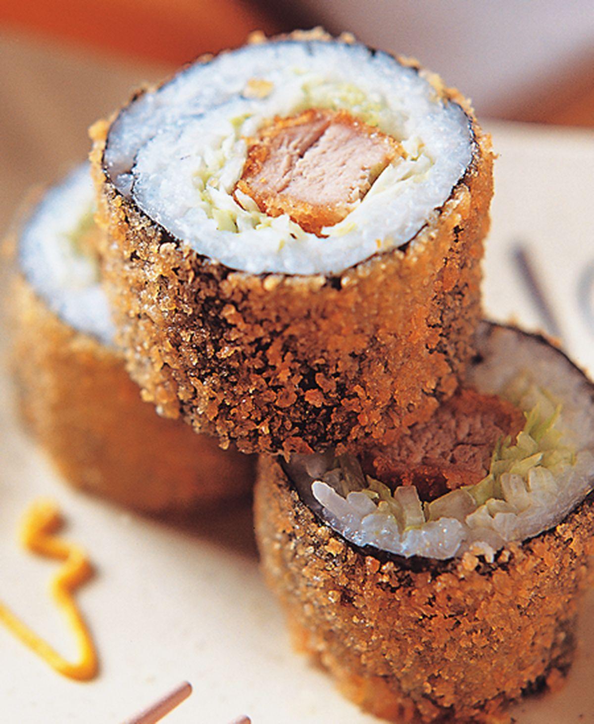 食譜:炸豬排壽司
