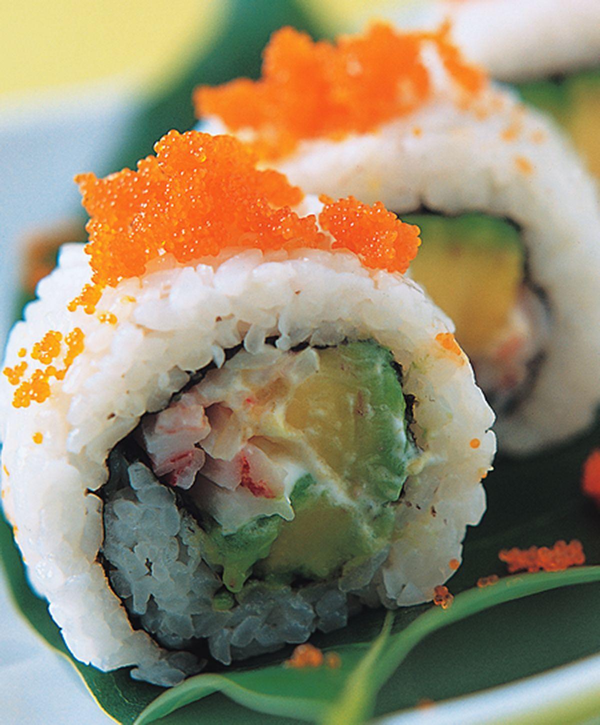 食譜:酪梨蟹肉棒卷