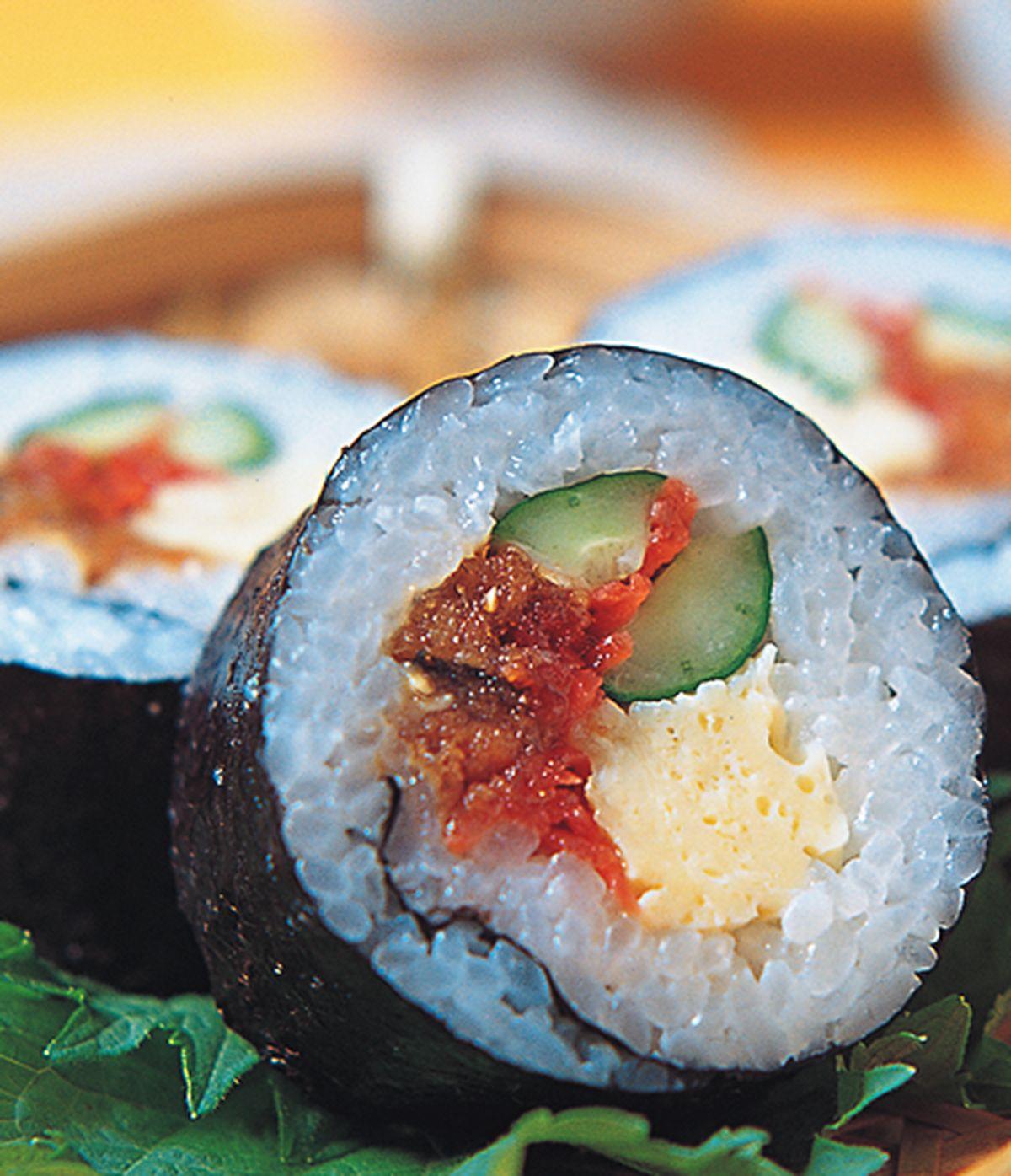 食譜:台式風味壽司卷