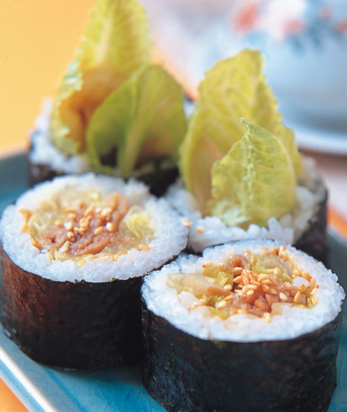 食譜:日式燒肉壽司卷