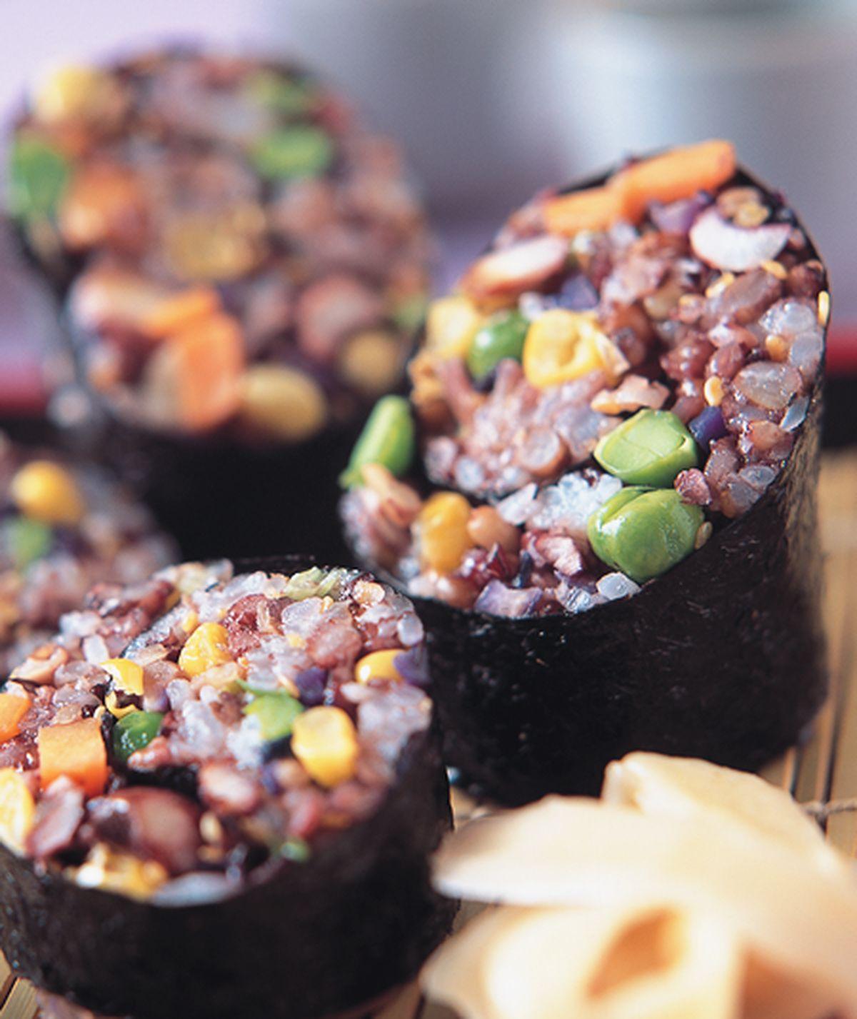 食譜:五穀雜糧壽司卷