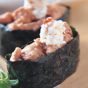 鱈魚肝軍艦壽司