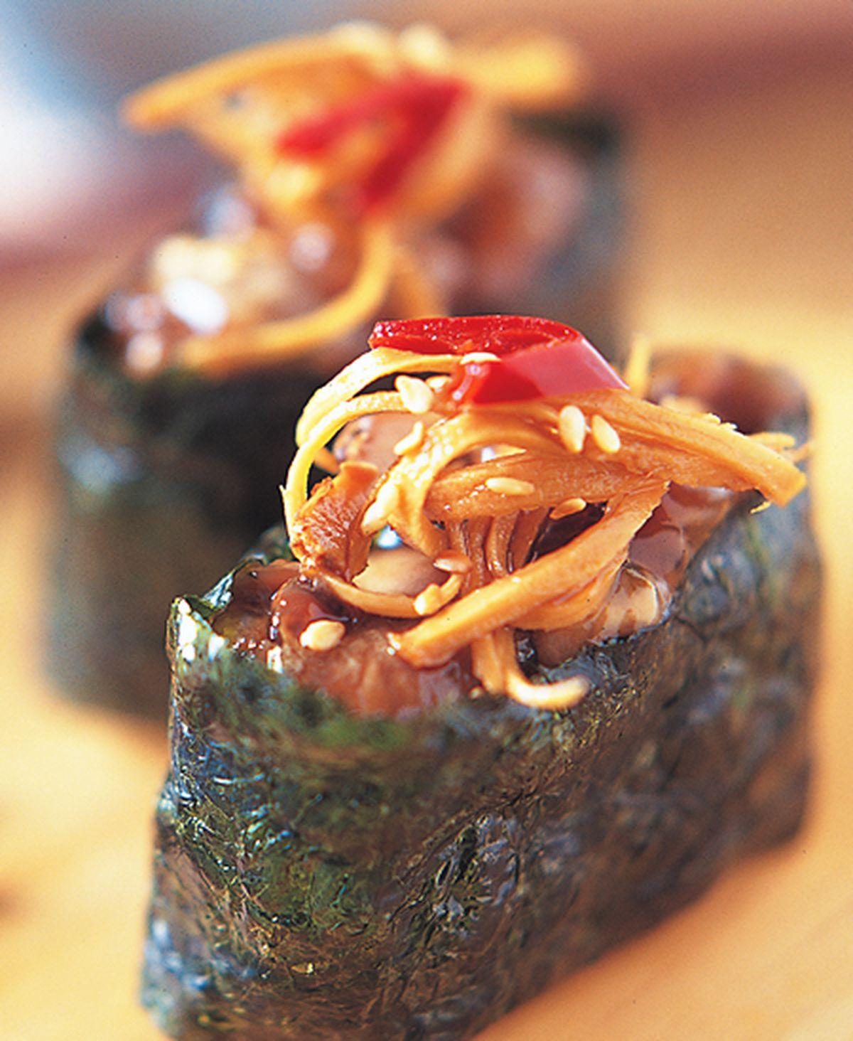 食譜:台式蜆蛤軍艦壽司