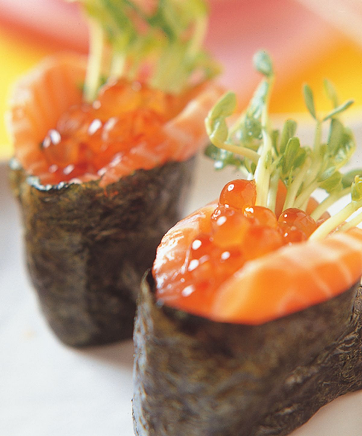 食譜:親子軍艦壽司