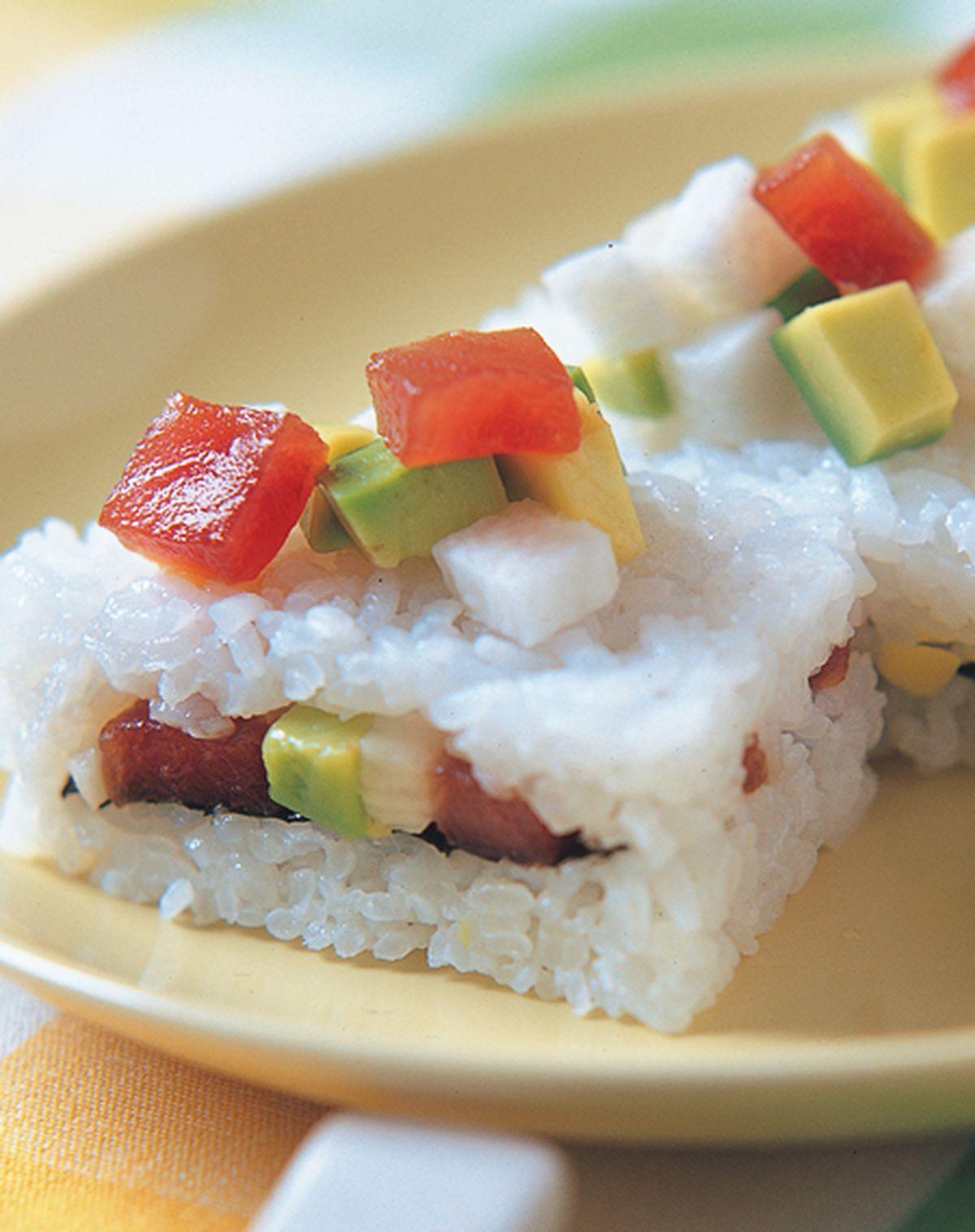 食譜:鮪魚箱壽司