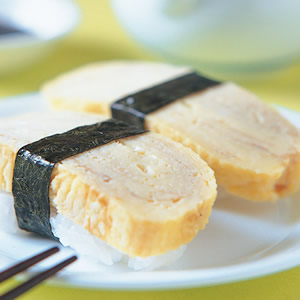玉子握壽司