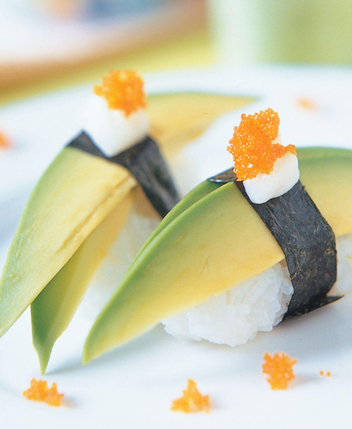 食譜:酪梨握壽司