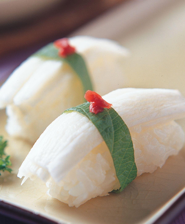食譜:山藥握壽司